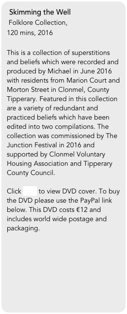 Skimming the Well